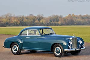 Click here to open the Bentley R-Type Continental Franay Sports Saloon gallery