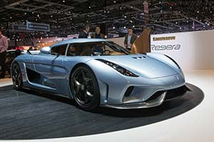 Click here to open the Koenigsegg Regera gallery