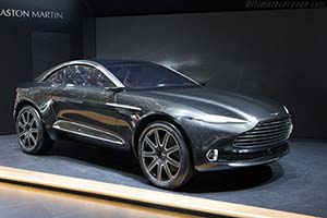 Click here to open the Aston Martin DBX Concept gallery