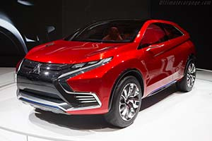 Click here to open the Mitsubishi Concept XR-PHEV II gallery