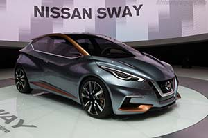 Click here to open the Nissan Sway Concept gallery