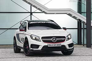 Click here to open the Mercedes-Benz Concept GLA 45 AMG gallery