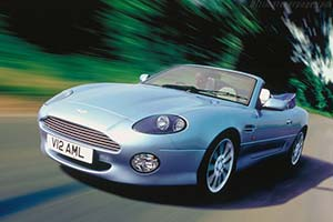 Click here to open the Aston Martin DB7 Vantage Volante gallery
