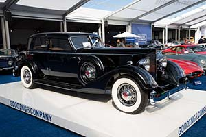 Click here to open the Packard 1108 Twelve Dietrich Sport Sedan gallery