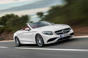 Click here to open the Mercedes-AMG S 63 Cabriolet gallery