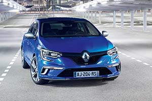 Click here to open the Renault Mégane GT gallery