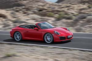 Click here to open the Porsche 911 Carrera S Cabriolet gallery