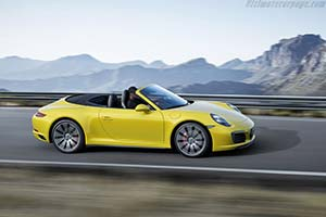 Click here to open the Porsche 911 Carrera 4S Cabriolet gallery