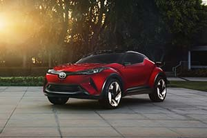 Click here to open the Scion C-HR Concept gallery