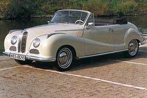 1954 - 1956 BMW 502 Cabriolet - Images, Specifications and Information