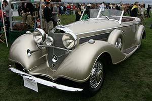 Click here to open the Mercedes-Benz 540 K Tourenwagen gallery