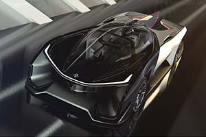 Click here to open the Faraday Future FFZERO1 Concept gallery
