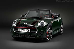 Click here to open the MINI John Cooper Works Convertible gallery