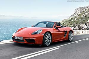 Click here to open the Porsche 718 Boxster S gallery