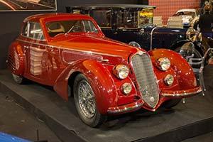 Click here to open the Alfa Romeo 8C 2900B Lungo Touring Berlinetta  gallery