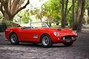Click here to open the Ferrari 250 GT SWB California Spyder  gallery