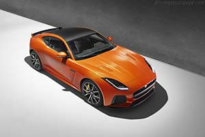 Click here to open the Jaguar F-Type SVR Coupe gallery