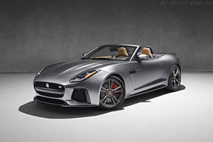 Click here to open the Jaguar F-Type SVR Convertible gallery