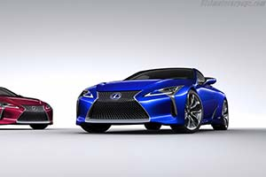 Click here to open the Lexus LC 500h gallery
