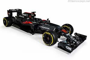 Click here to open the McLaren MP4-31 Honda gallery