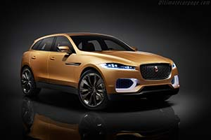 Click here to open the Jaguar C-X17 Sports Crossover Concept gallery