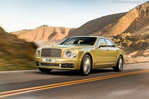 Click here to open the Bentley Mulsanne Speed gallery
