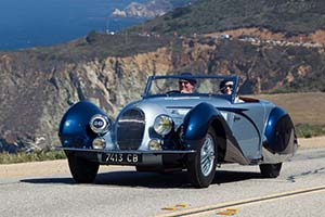 Click here to open the Talbot Lago T150C SS Figoni & Falaschi Cabriolet  gallery