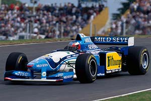 Click here to open the Benetton B195 Renault gallery