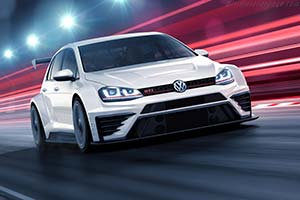 Click here to open the Volkswagen Golf GTI TCR gallery