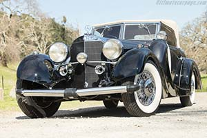 Click here to open the Mercedes-Benz 500 K Saoutchik Cabriolet gallery