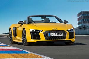 Click here to open the Audi R8 Spyder V10 gallery