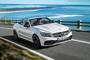 Click here to open the Mercedes-AMG C 63 S Cabriolet gallery