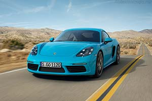 Click here to open the Porsche 718 Cayman S gallery