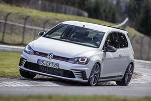 Click here to open the Volkswagen Golf GTI Clubsport S gallery