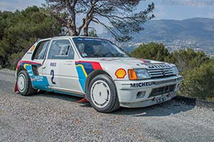 1984 1986 peugeot 205 t16 group b images specifications and information. Black Bedroom Furniture Sets. Home Design Ideas