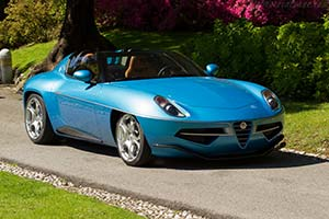 Click here to open the Alfa Romeo Disco Volante Spyder by Touring gallery