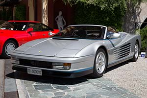 1986 Ferrari Testarossa Spider Specifications