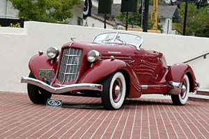 Click here to open the Auburn 851 SC Speedster gallery