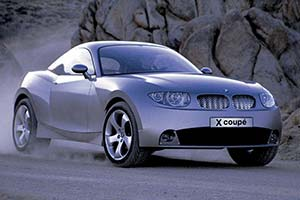 Click here to open the BMW X Coupe gallery