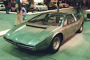 Click here to open the Alfa Romeo 33 Iguana Concept gallery