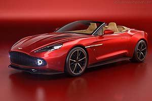 Click here to open the Aston Martin Vanquish Zagato Volante gallery