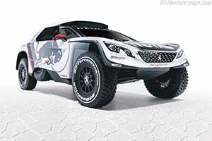 Click here to open the Peugeot 3008 DKR gallery