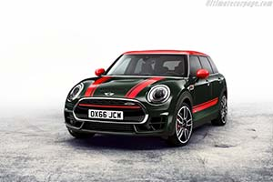 Click here to open the MINI John Cooper Works Clubman gallery