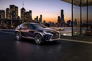 Click here to open the Lexus UX Concept gallery