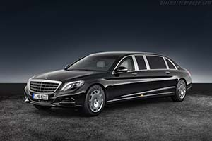 Click here to open the Mercedes-Maybach S 600 Pullman Guard gallery
