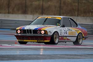 Click here to open the BMW 635 CSi Group A  gallery