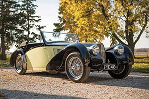 Click here to open the Bugatti Type 57 S Vanvooren Cabriolet  gallery