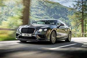 Click here to open the Bentley Continental Supersports gallery