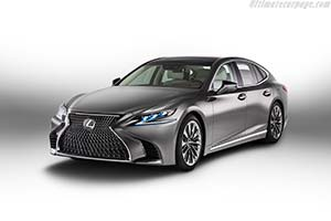 Click here to open the Lexus LS 500 gallery