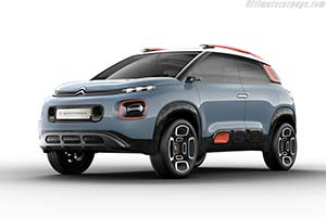 Click here to open the Citroën C-Aircross Concept gallery